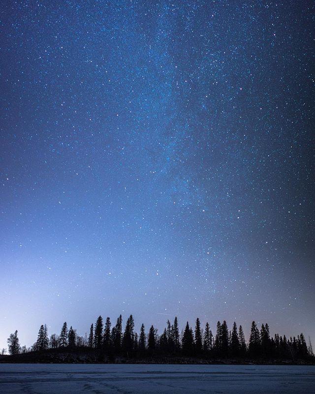 Underneath a blanket of stars. #milkyway #explorealberta