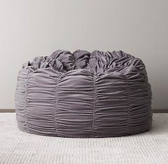 Кресло-мешок Washed velvet ruched