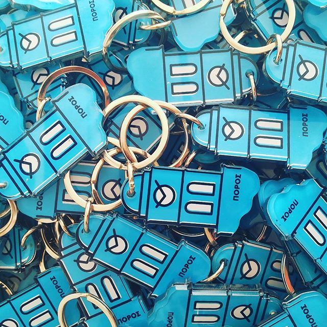 #plexiglass #keyrings designed by @louder_than_horn  .  .  .  .  .  #keychains #greekislands #inspiration #architecture #blue #white #event #madeingreece #silkscreen #screenprint #print #printmaking #insta #instaartwork #greece #greecestagram #igers #love #gift #giftideas #plexiartshop