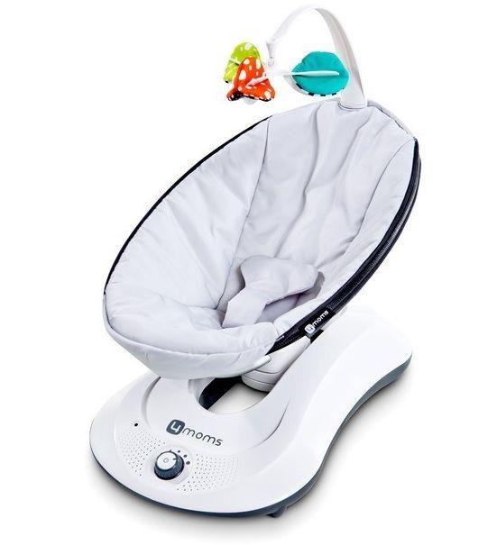 2d61f768e La mecedora eléctrica para bebés 4Moms RockaBoo es una alternativa  excelente a la hamaca eléctrica MamaRoo