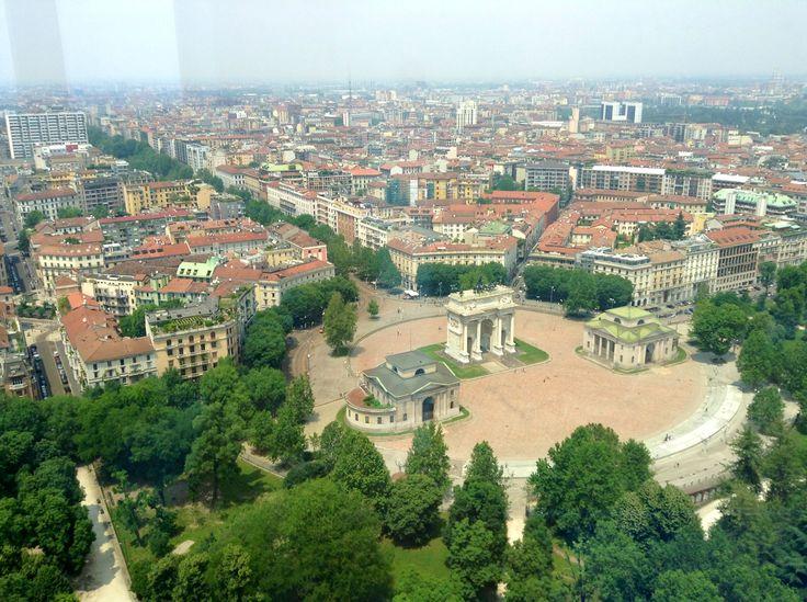 Milano - Italy. Arco della Pace