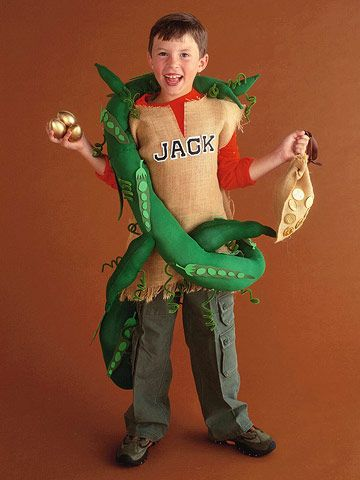 Jack & the Beanstalk Costume? idea? maybe Cannon could be the beanstalk and Jack could be Jack:)