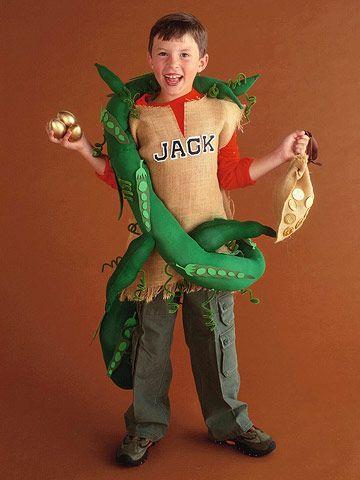 Jack & the Beanstalk Costume? idea? maybe Cannon could be the beanstalk and Jack could be Jack:)