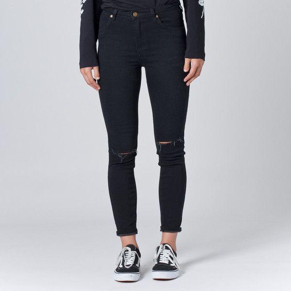 Rollas Westcoast Jean - Typhoon Black | Thanks Store Online