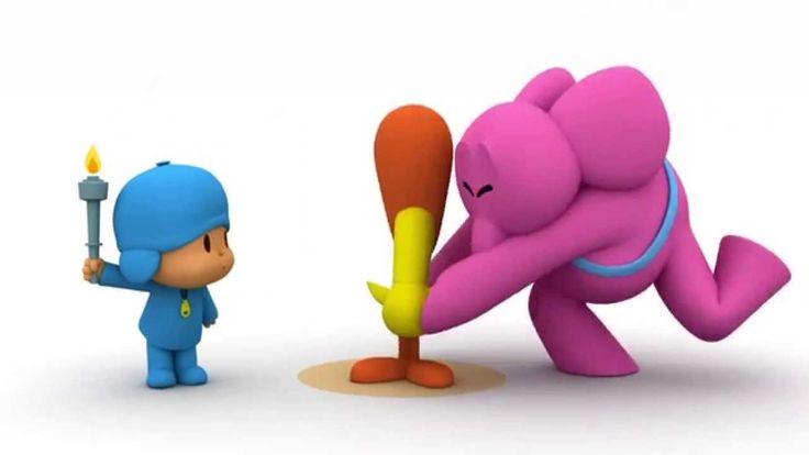 Los Pocoyó Games 2012 - ¡Salto con pértiga!