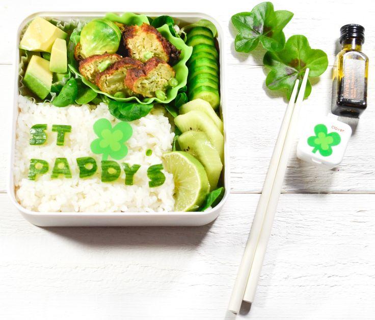 Saint Patrick's day Bento