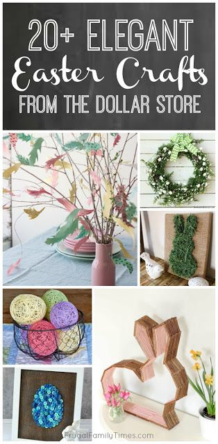 20+ Elegant Easter Decor Crafts from the Dollar Store