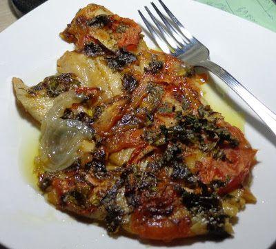 Ψάρι γλώσσα με λαχανικά στό φούρνο ! - Οι πιο νόστιμες συνταγές