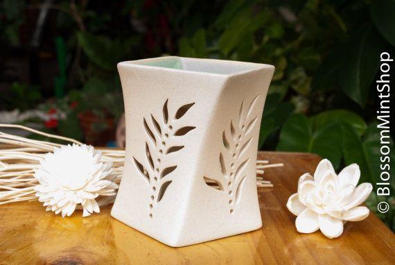 Flower Ceramic Oil Burner