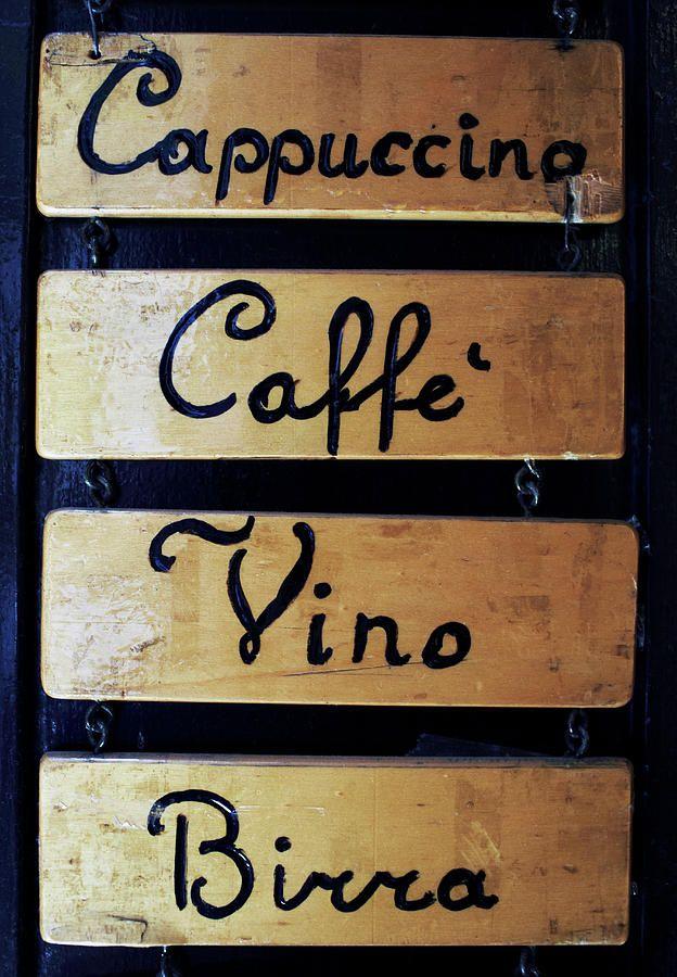 Bar choices in Venice