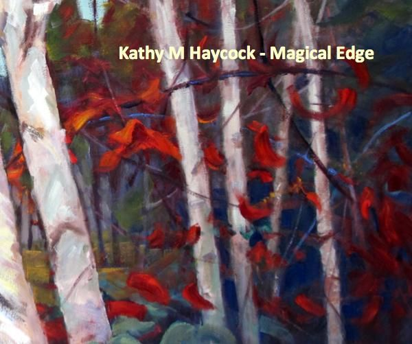 Kathy Haycock grew up surrounded by the art of her father, Arctic artist Maurice Haycock and his close painting partner of 30 years, A. Y. Jackson of the Canadian Group of Seven. She cites them as her major influences. Early Arctic trips with her father introduced her to the lure of the North and inspired a sweeping and graceful rhythm in her work.