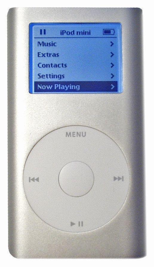E então se rendeu a Apple. | 18 itens ostentação que causaram muita inveja nos adolescentes dos anos 2000