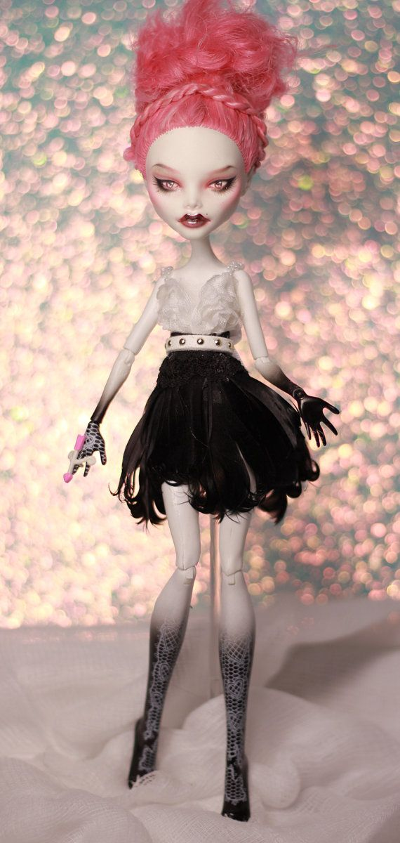 Custom OOAK Monster High C. A. Cupid Repaint by KaylaKnadleArt