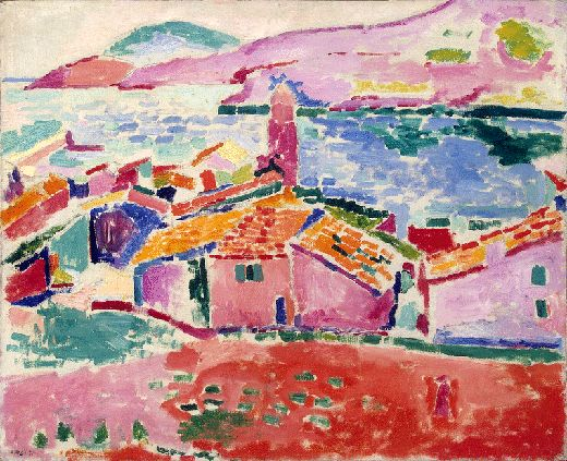 """Matisse: Les toits de Collioure, 1905 : """"Love his brilliant colors! They just take you into the painting and make you smile!"""""""