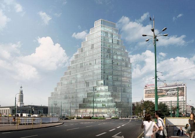 Architektur: MVRDV, Baltyc Tower
