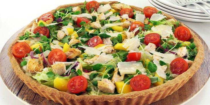 Kokeile Salaattipiirakka-kanalla reseptiämme, täysin uusi tapa tarjota piirakkaa!