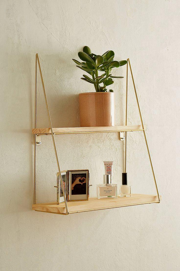 Kensie Wall Shelf Shelves Wood