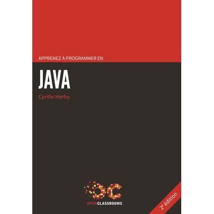 Apprenez à programmer en Java -- Cyrille Herby Sce : http://i2.cdscdn.com/pdt2/8/9/3/1/700x700/9791090085893/rw/apprenez-a-programmer-en-java-la-programmation-pro.jpg
