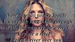 cry me a river diana krall karaoke - YouTube