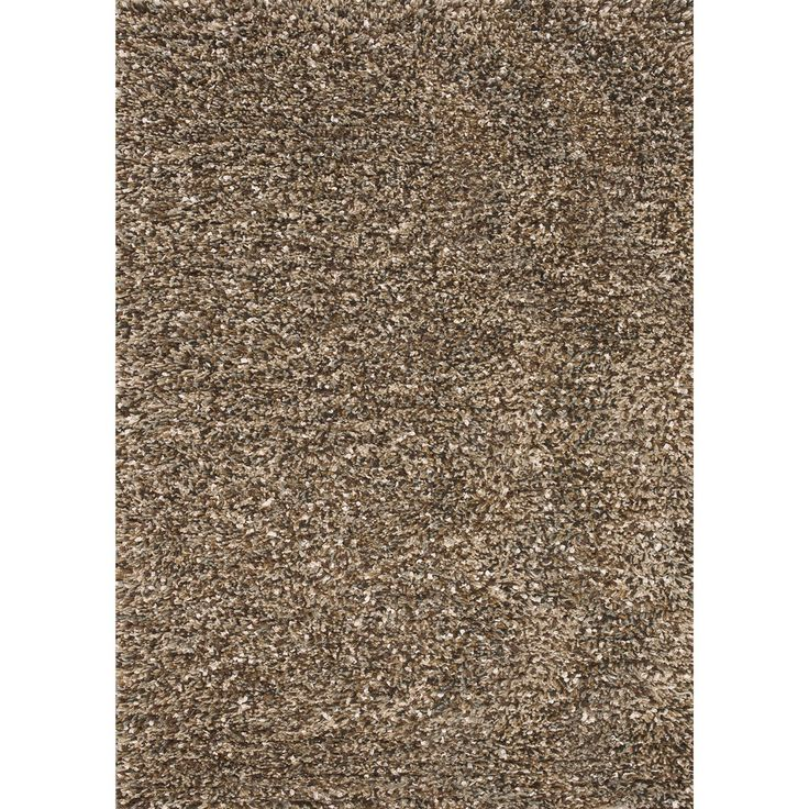 alexander home handwoven baxter brown shag rug 9u00273 x 13 brown 9u00273 x 13 size 9u00273 x 13u0027 polyester solid