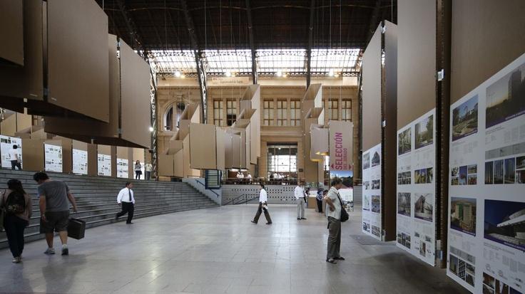 Montaje XVIII Bienal de Arquitectura / Registro de Pablo Casals Aguirre