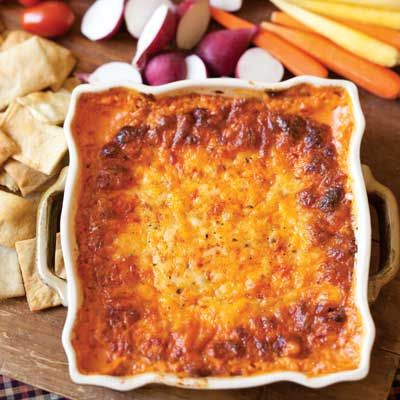 Baked Pimiento Cheese Dip | Perfect for tailgating!