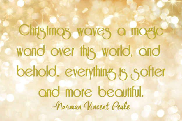 25 Of The Most Beautiful Literary Quotes About Christmas