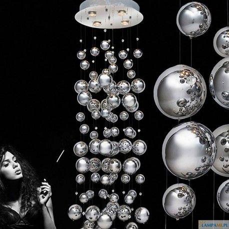 Lampa wisząca Rain marki Azzardo to ultra nowoczesny design: http://zlampami.pl/412-rain-md-9722b-4.html
