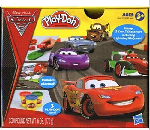 Toys for Children,NEW Play-Doh Playset - Disney Pixar Cars 2 by Play-Doh