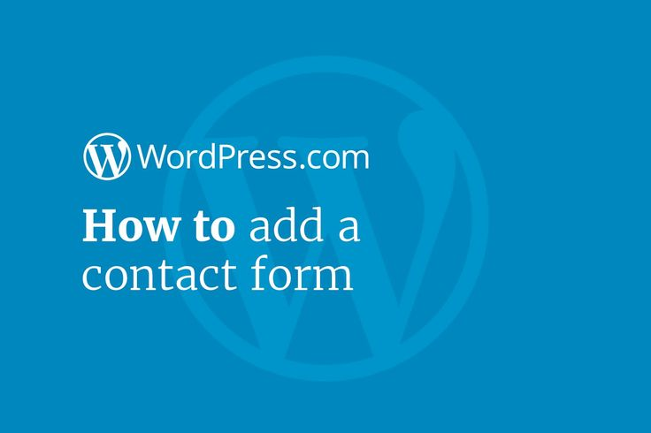 Add a Contact Form quickly to your WordPress website or blog in a post or page! Our latest WordPress tutorial:  #WordPress #website #blog