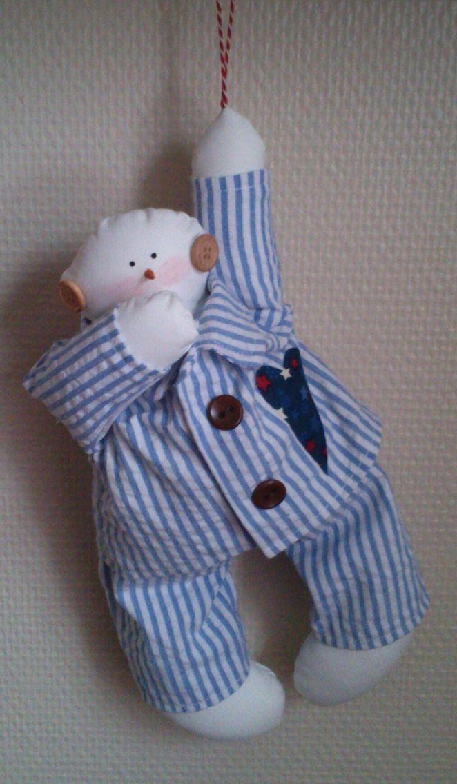 Tilda sleepy snowman ❄️