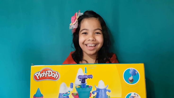 Play Doh Ice Cream Castle Playset/Toots Teens Videos Let's Play