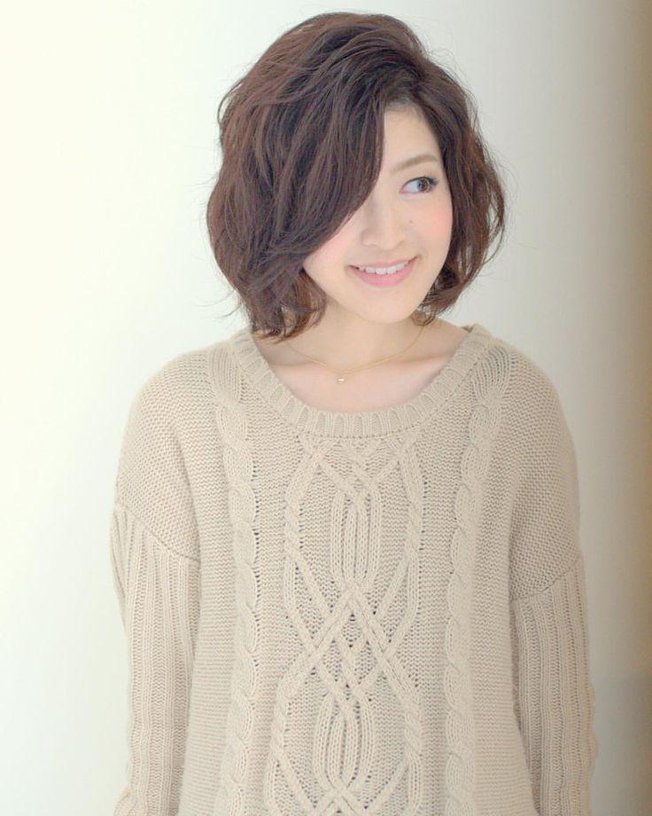 today's hair style☆  model:marina hair:tatsuya  #ボブ #ヘアスタイル #ヘアセット #ヘアアレンジ #ダウンスタイル #ウェーブ #波ウェーブ  #ふわふわ #ルーズ  #フェミニン  #t2style #love  #courarir #courarirhair #courarirkyotoekimae #courarirhairkyotoekimae