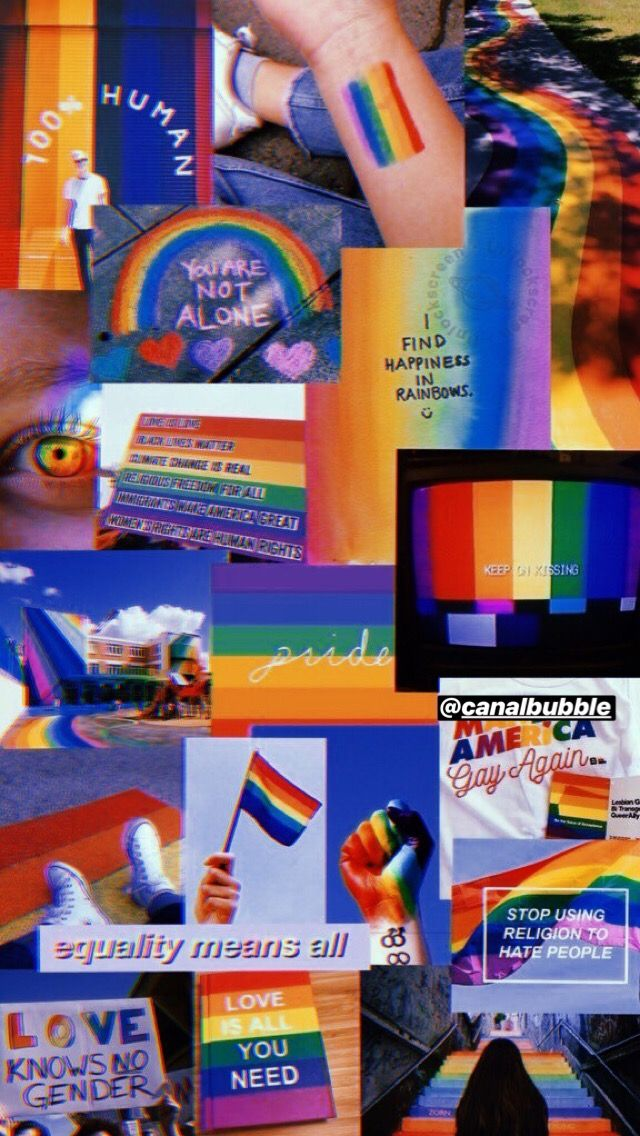 Lgbt Quotes, Gay Aesthetic, Lgbt Love, Rainbow Wallpaper, Rainbow Aesthetic, Montage Photo, Iphone Wallpaper Tumblr Aesthetic, Instagram, Wallpaper Quotes