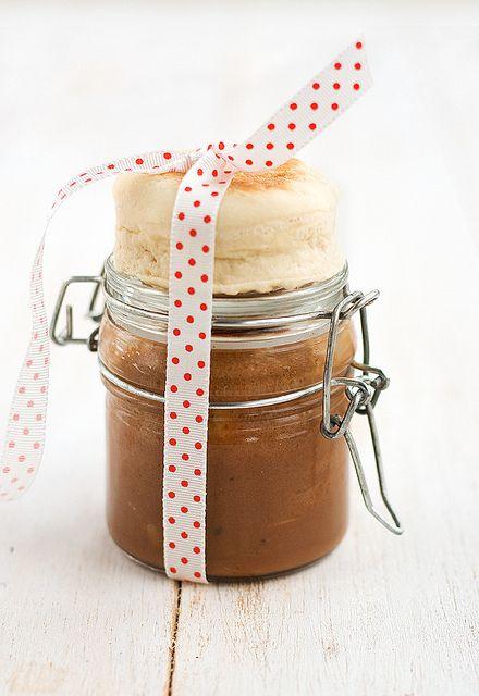 Pan con Nutella Casera