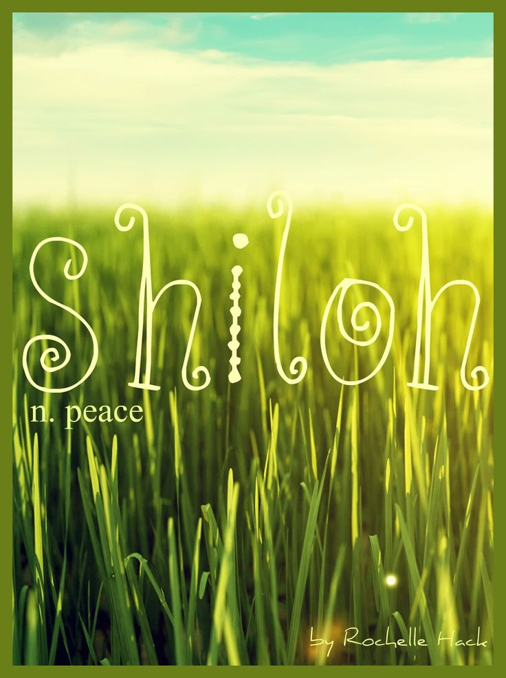 Baby Girl Or Boy Name: Shiloh. Meaning: Peace. Origin