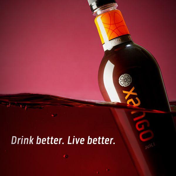 Drink Better. Live Better   XANGO