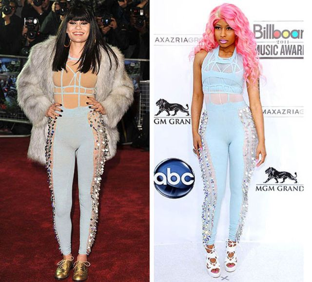 jessie j or nikki minaj --- can't believe anyone would even wear this