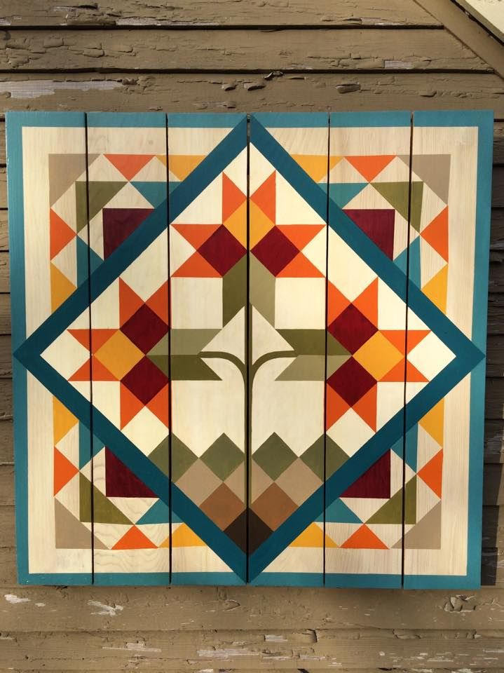 Mexican Tile barn quilt