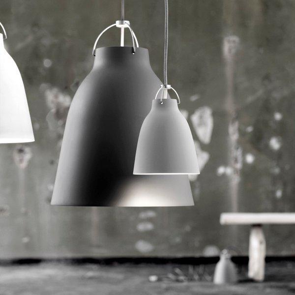 Caravaggio P3 valaisin, matta tummanharmaa | Riippuvalaisimet | Valaisimet | Finnish Design Shop