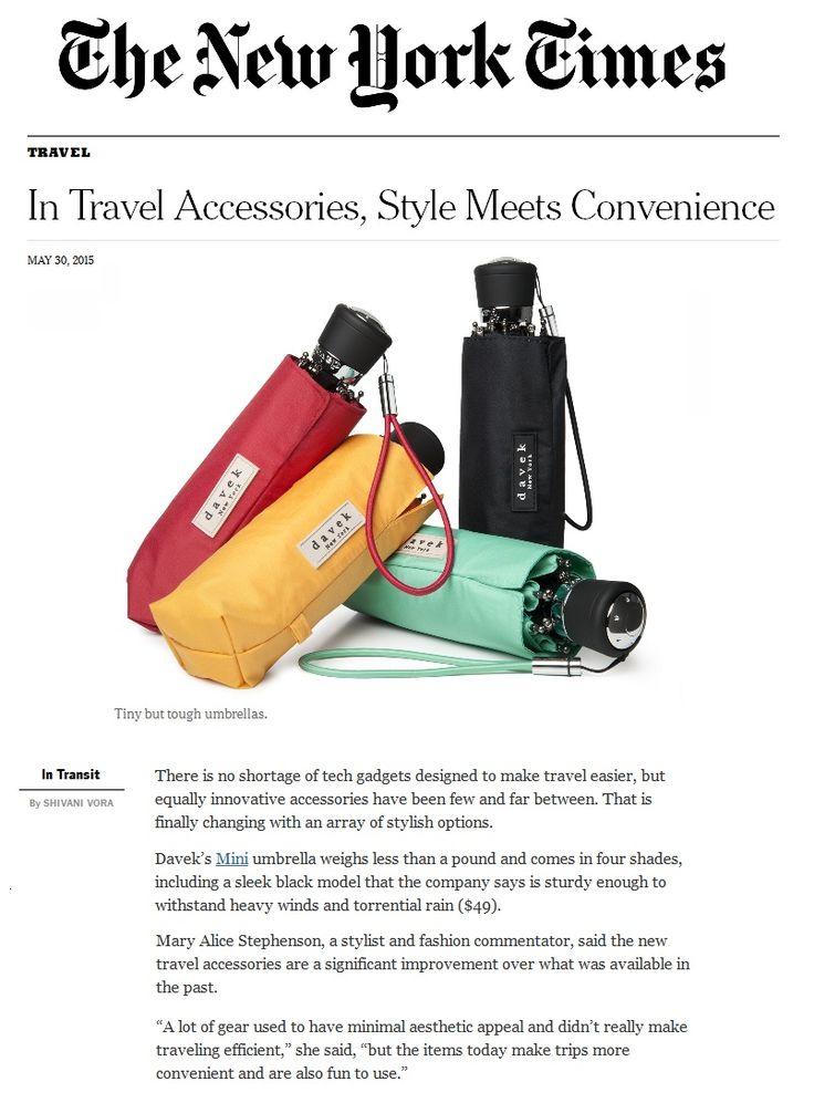 Davek in New York Times. Tiny but tough
