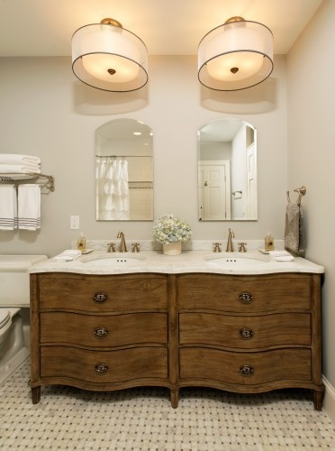 Make Photo Gallery Empire Rosette Double Vanity Sink