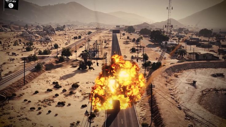 [SERIOUS] Islamic State propagandists create montages of the Mosul battle using GTA 5