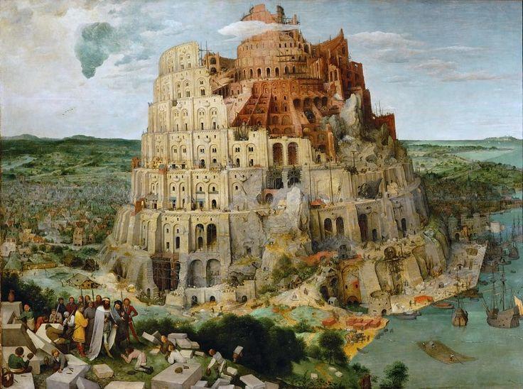Питер Брейгель I - Вавилонская башня.