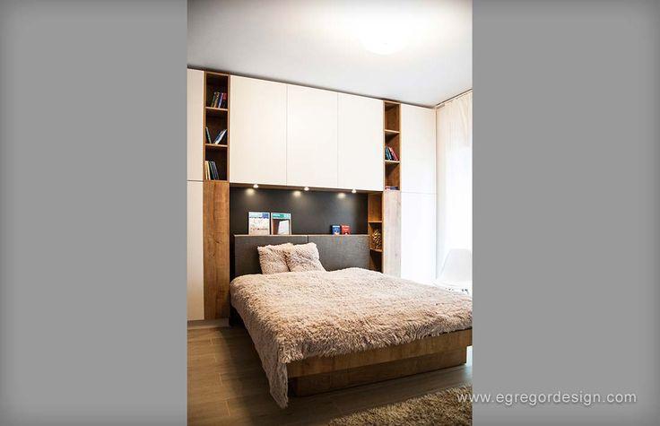 amenajare si mobilare apartament cu doua camere pat matrimonial spatar tapitat cluj