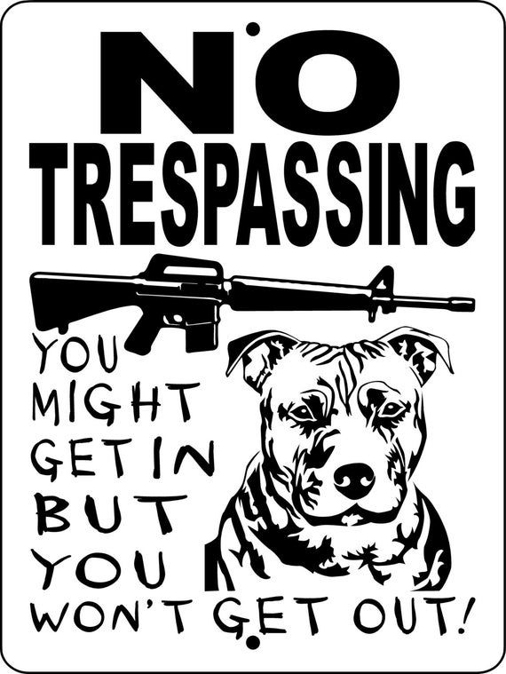 """NSPB2 NO SOLICITING SIGN,PIT BULL DOG SIGN,PITBULL,GUARD DOG,9/""""x12/"""" ALUMINUM"""