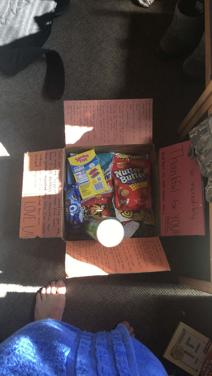 Thanksgiving care package