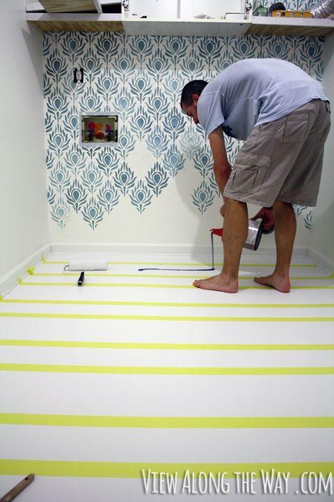 The 25 best ideas about paint laminate floors on for Best paint for vinyl floors