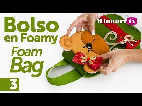 Bolso en Foamy ( Foam handbag ) 3/3 - YouTube