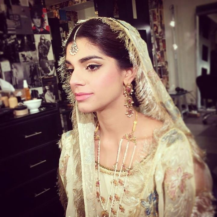 Sanam Saeed at her wedding